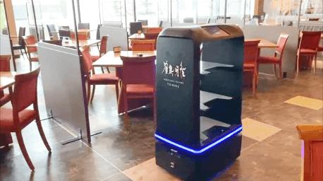 自律走行型配送ロボット ユンジデリYUNJI DELI